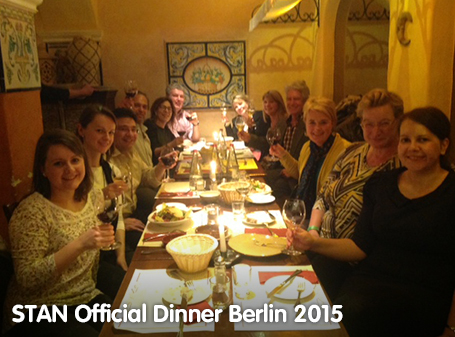 STAN Official Dinner Berlin 2015