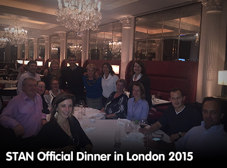 STAN Official Dinner in London 2015